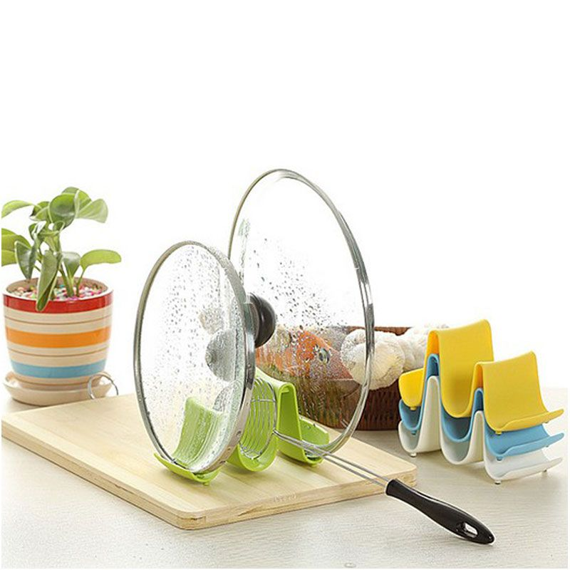 practical-spoon-pot-lid-shelf-cooking-storage-kitchen-decor-tool-stand-holder-wave-design-57968-8700 6 Affordable Organizing and Decoration Ideas for your Kitchen