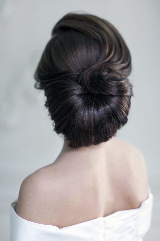 stunning-wedding-hairstyle 81+ Beautiful Wedding Hairstyles for Elegant Brides in 2020