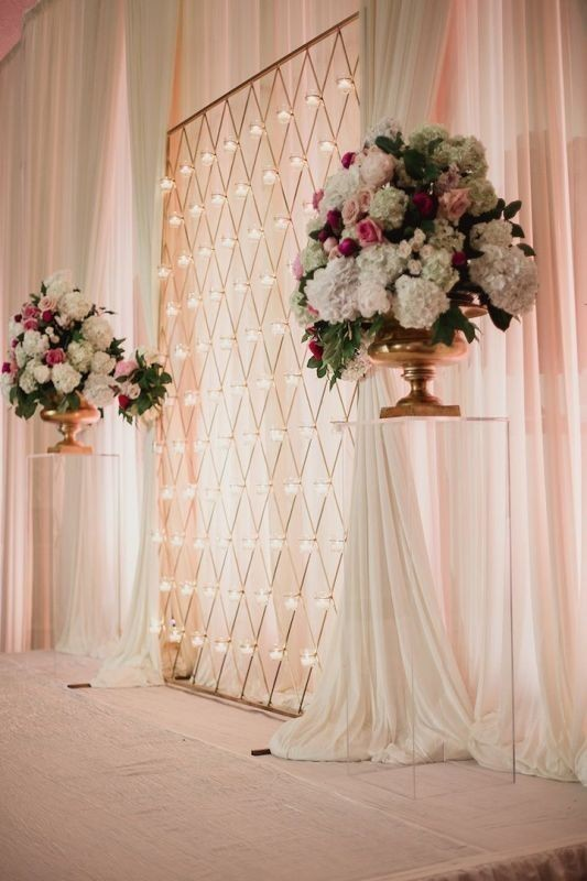 wedding-backdrops-2017-15 83+ Dreamy Unique Wedding Backdrop Ideas in 2020