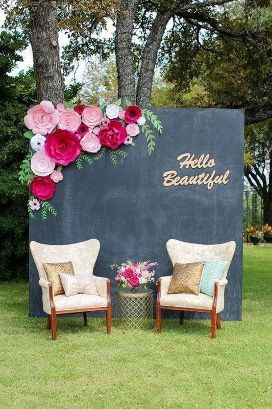 wedding-backdrops-2017-30 83+ Dreamy Unique Wedding Backdrop Ideas in 2020