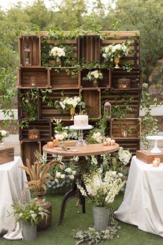wedding-backdrops-2017-40 83+ Dreamy Unique Wedding Backdrop Ideas in 2020