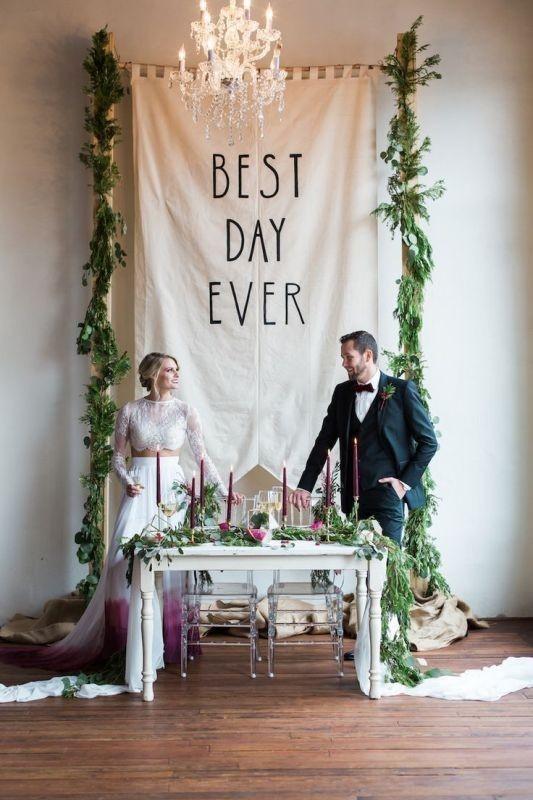 wedding-backdrops-2017-52 83+ Dreamy Unique Wedding Backdrop Ideas in 2020
