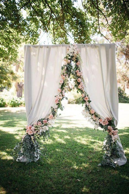 wedding-backdrops-2017-57 83+ Dreamy Unique Wedding Backdrop Ideas in 2020