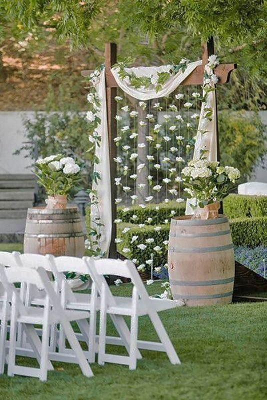 wedding-backdrops-2017-58 83+ Dreamy Unique Wedding Backdrop Ideas in 2020
