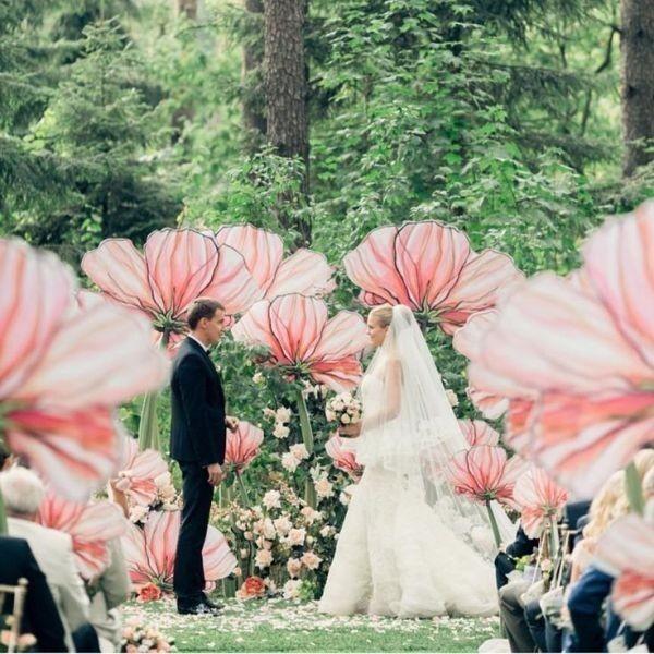wedding-backdrops-2017-89 83+ Dreamy Unique Wedding Backdrop Ideas in 2020