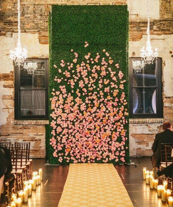wedding-backdrops-2017-95 83+ Dreamy Unique Wedding Backdrop Ideas in 2020