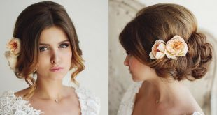 81+ Beautiful Wedding Hairstyles for Elegant Brides in 2017