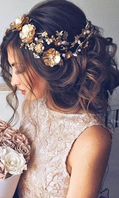 wedding-hairstyles-2017-10 81+ Beautiful Wedding Hairstyles for Elegant Brides in 2020