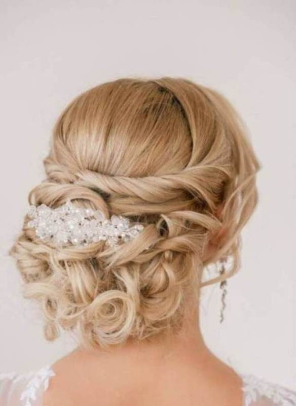 wedding-hairstyles-2017-100 81+ Beautiful Wedding Hairstyles for Elegant Brides in 2020
