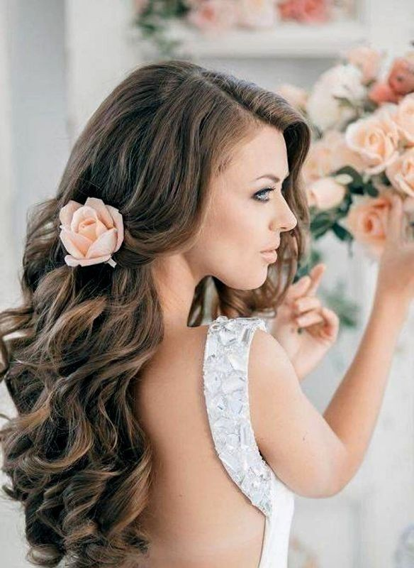 wedding-hairstyles-2017-101 81+ Beautiful Wedding Hairstyles for Elegant Brides in 2018