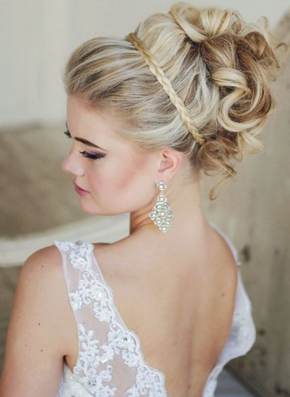 wedding-hairstyles-2017-102 81+ Beautiful Wedding Hairstyles for Elegant Brides in 2020