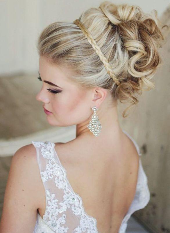 wedding-hairstyles-2017-102 81+ Beautiful Wedding Hairstyles for Elegant Brides in 2020