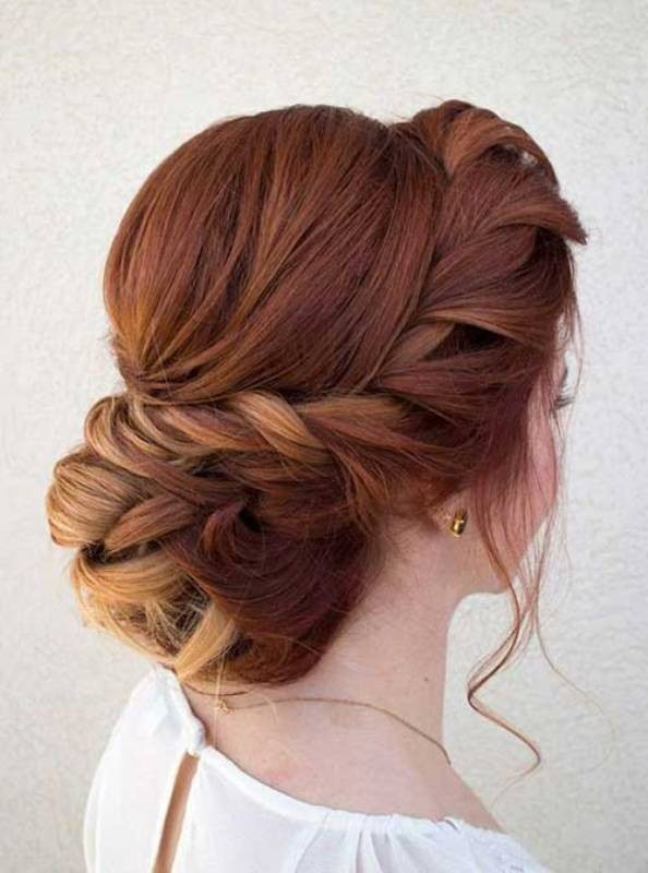 wedding-hairstyles-2017-105 81+ Beautiful Wedding Hairstyles for Elegant Brides in 2020