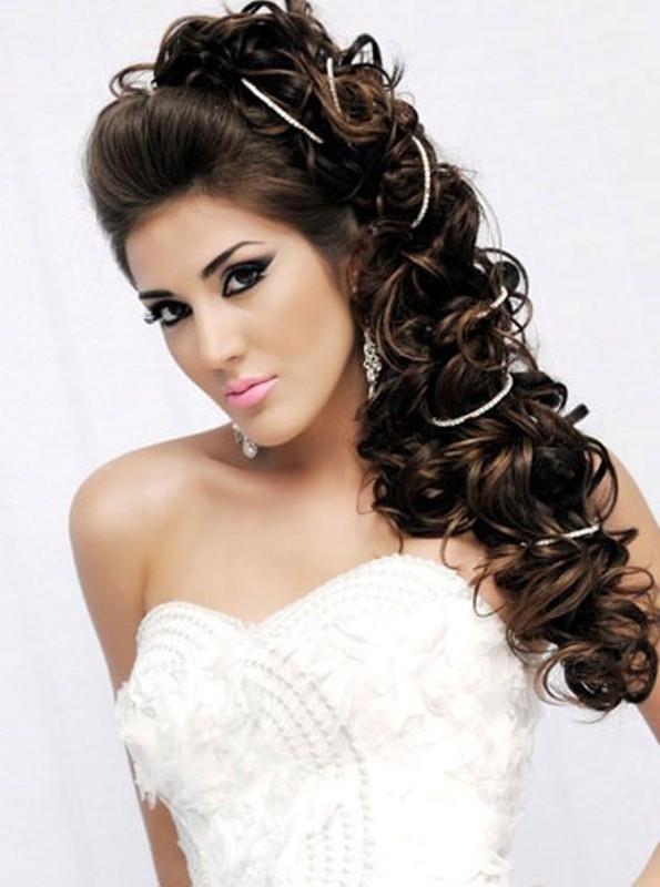wedding-hairstyles-2017-106 81+ Beautiful Wedding Hairstyles for Elegant Brides in 2020