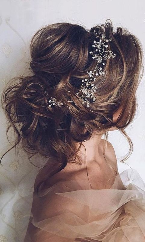 wedding-hairstyles-2017-11 81+ Beautiful Wedding Hairstyles for Elegant Brides in 2020