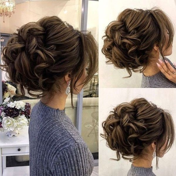 wedding-hairstyles-2017-111 81+ Beautiful Wedding Hairstyles for Elegant Brides in 2020