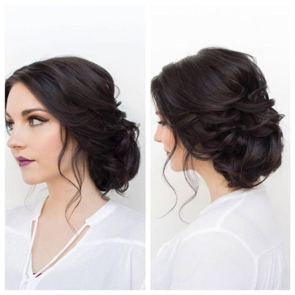wedding-hairstyles-2017-116 81+ Beautiful Wedding Hairstyles for Elegant Brides in 2020