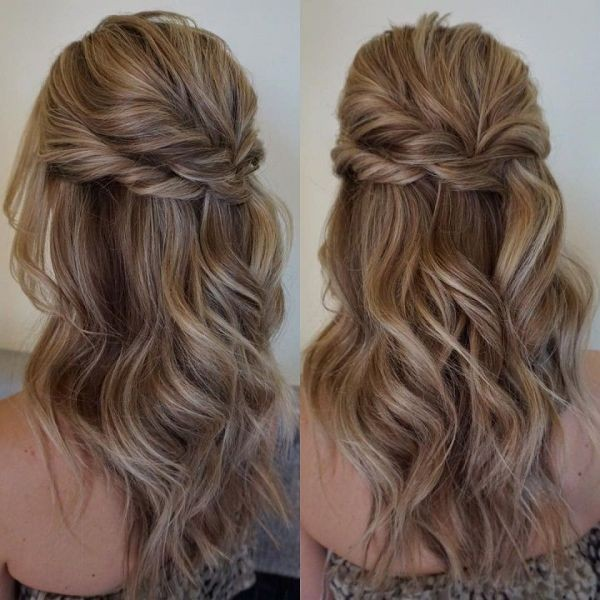 wedding-hairstyles-2017-117 81+ Beautiful Wedding Hairstyles for Elegant Brides in 2020