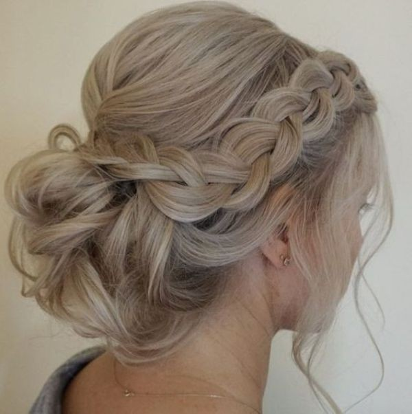 wedding-hairstyles-2017-118 81+ Beautiful Wedding Hairstyles for Elegant Brides in 2020
