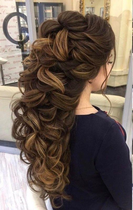 wedding-hairstyles-2017-12 81+ Beautiful Wedding Hairstyles for Elegant Brides in 2018