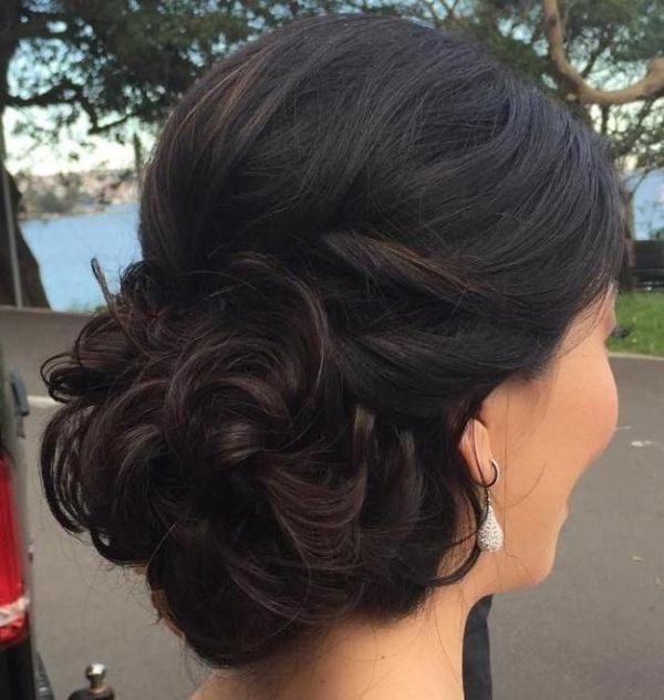 wedding-hairstyles-2017-121 81+ Beautiful Wedding Hairstyles for Elegant Brides in 2020