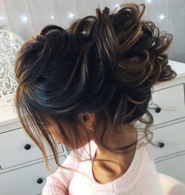 wedding-hairstyles-2017-123 81+ Beautiful Wedding Hairstyles for Elegant Brides in 2020