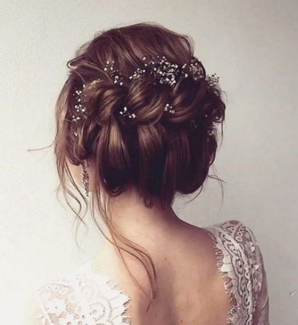wedding-hairstyles-2017-126 81+ Beautiful Wedding Hairstyles for Elegant Brides in 2020