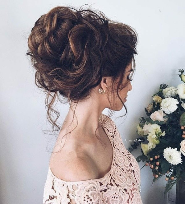 wedding-hairstyles-2017-127 81+ Beautiful Wedding Hairstyles for Elegant Brides in 2020