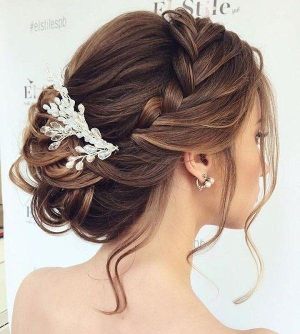 wedding-hairstyles-2017-129 81+ Beautiful Wedding Hairstyles for Elegant Brides in 2020
