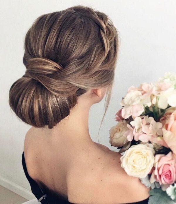 wedding-hairstyles-2017-131 81+ Beautiful Wedding Hairstyles for Elegant Brides in 2020