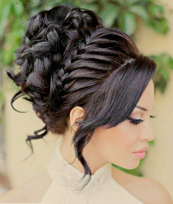 wedding-hairstyles-2017-132 81+ Beautiful Wedding Hairstyles for Elegant Brides in 2020