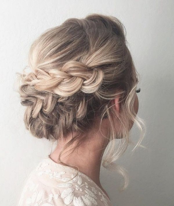 wedding-hairstyles-2017-133 81+ Beautiful Wedding Hairstyles for Elegant Brides in 2020