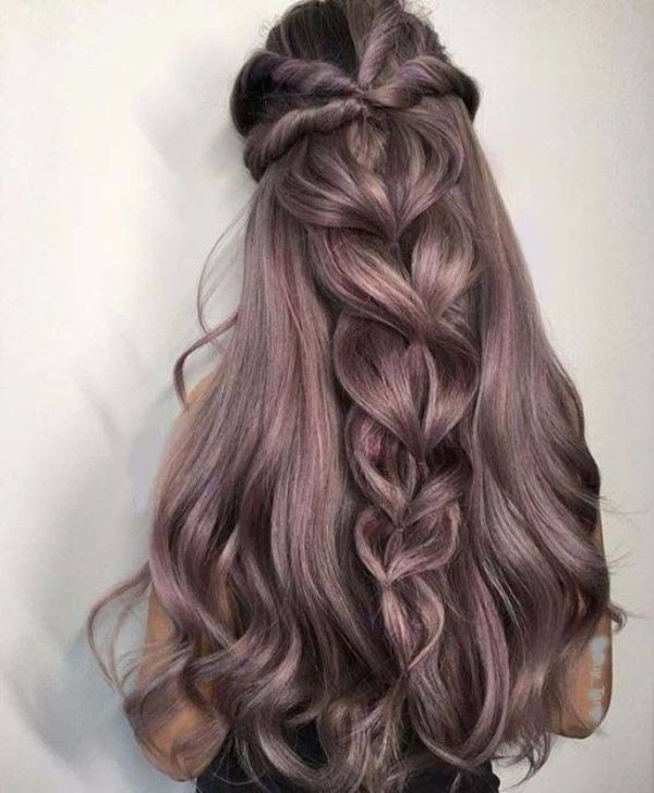 wedding-hairstyles-2017-136 81+ Beautiful Wedding Hairstyles for Elegant Brides in 2020