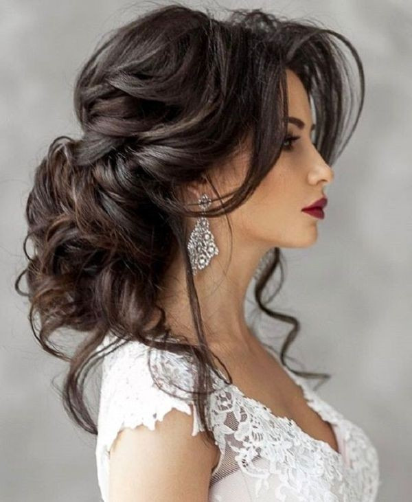 wedding-hairstyles-2017-137 81+ Beautiful Wedding Hairstyles for Elegant Brides in 2020