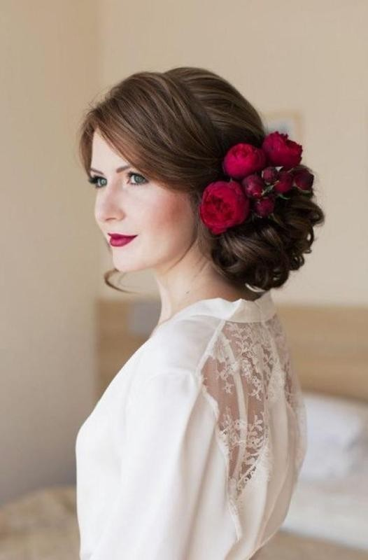 wedding-hairstyles-2017-14 81+ Beautiful Wedding Hairstyles for Elegant Brides in 2020