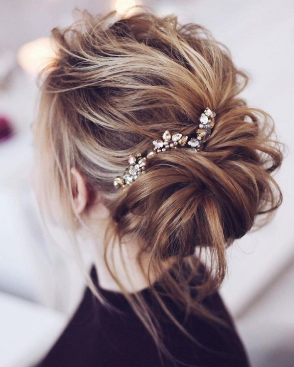 wedding-hairstyles-2017-145 81+ Beautiful Wedding Hairstyles for Elegant Brides in 2020