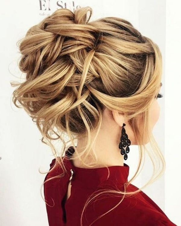 wedding-hairstyles-2017-148 81+ Beautiful Wedding Hairstyles for Elegant Brides in 2020