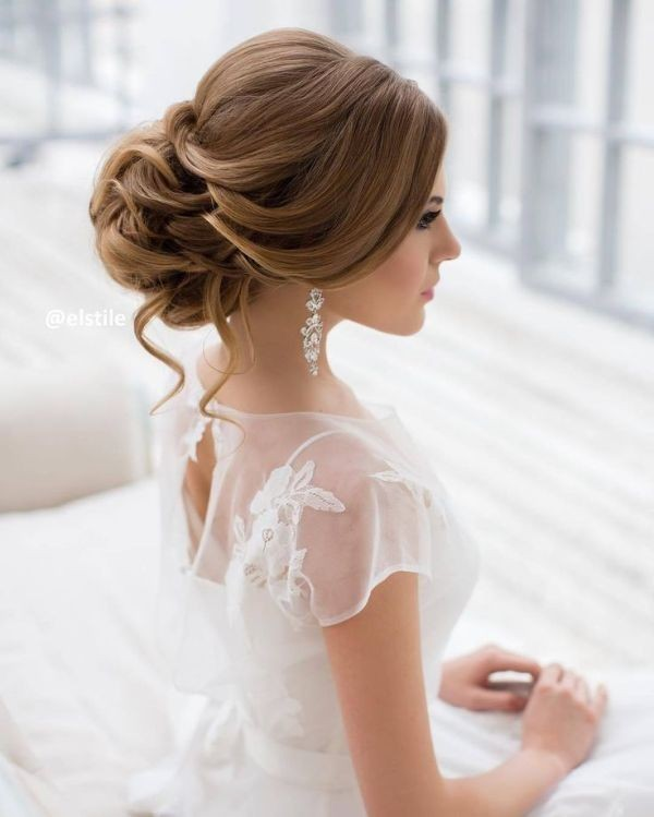 wedding-hairstyles-2017-149 81+ Beautiful Wedding Hairstyles for Elegant Brides in 2020