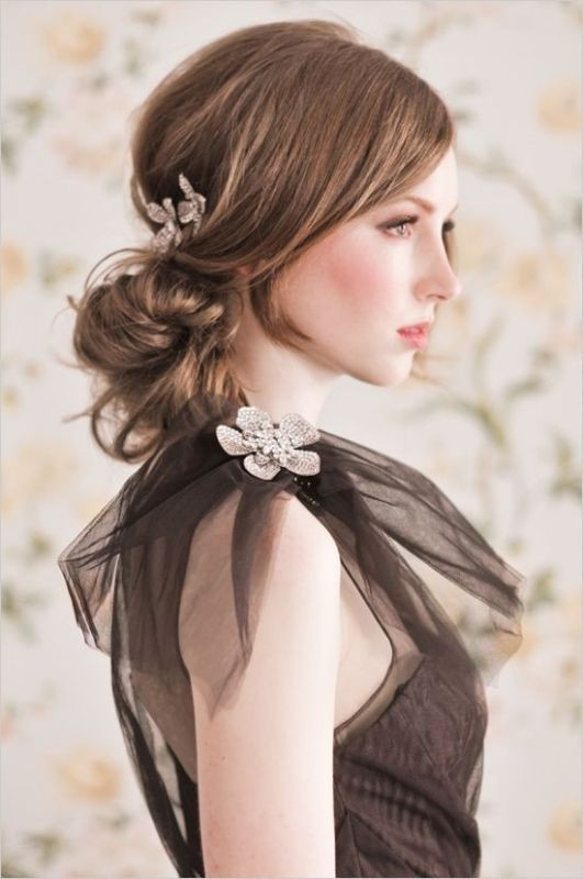 wedding-hairstyles-2017-15 81+ Beautiful Wedding Hairstyles for Elegant Brides in 2020