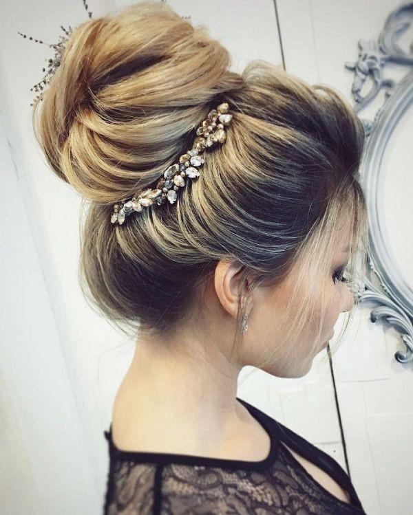wedding-hairstyles-2017-150 81+ Beautiful Wedding Hairstyles for Elegant Brides in 2020