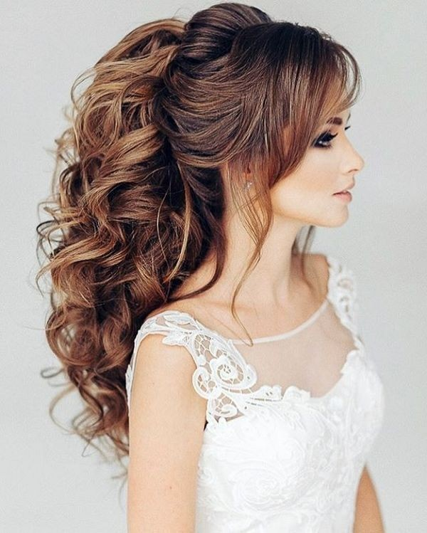 wedding-hairstyles-2017-154 81+ Beautiful Wedding Hairstyles for Elegant Brides in 2020