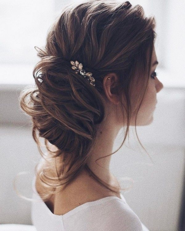 wedding-hairstyles-2017-155 81+ Beautiful Wedding Hairstyles for Elegant Brides in 2020
