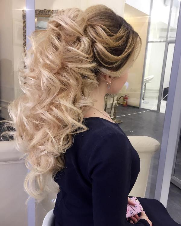 wedding-hairstyles-2017-156 81+ Beautiful Wedding Hairstyles for Elegant Brides in 2018