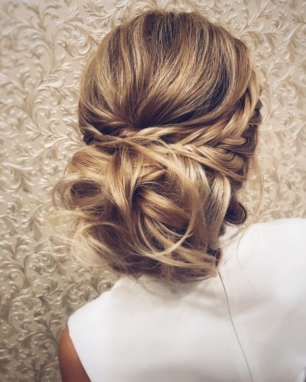 wedding-hairstyles-2017-158 81+ Beautiful Wedding Hairstyles for Elegant Brides in 2020