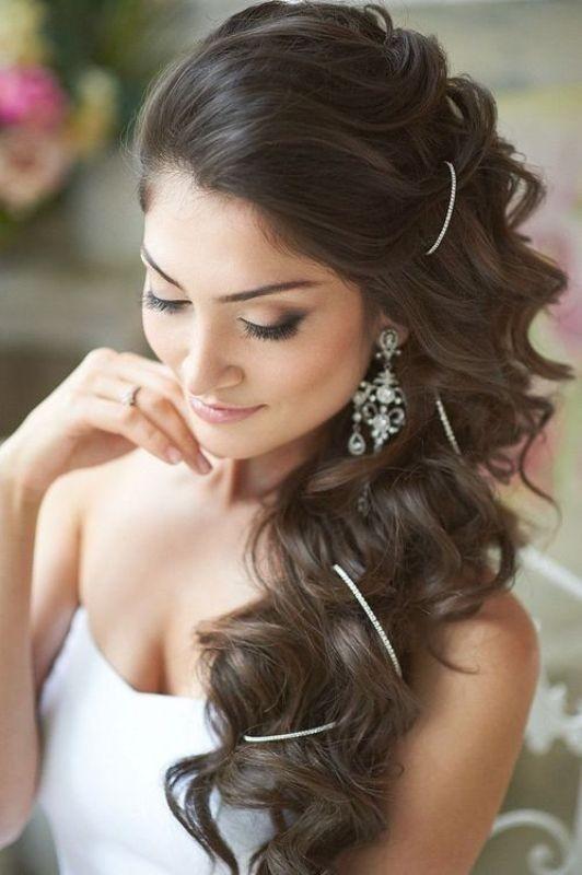 wedding-hairstyles-2017-16 81+ Beautiful Wedding Hairstyles for Elegant Brides in 2020