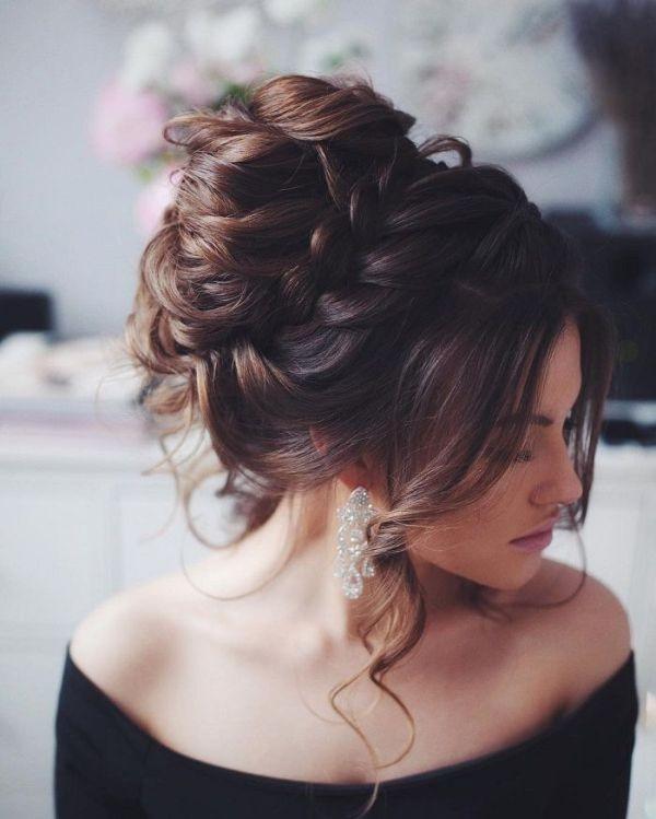 wedding-hairstyles-2017-161 81+ Beautiful Wedding Hairstyles for Elegant Brides in 2020