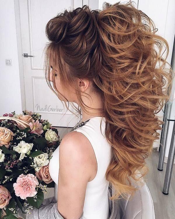 wedding-hairstyles-2017-162 81+ Beautiful Wedding Hairstyles for Elegant Brides in 2020