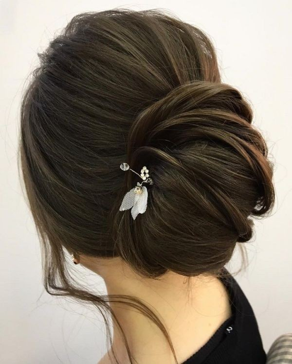 wedding-hairstyles-2017-163 81+ Beautiful Wedding Hairstyles for Elegant Brides in 2020