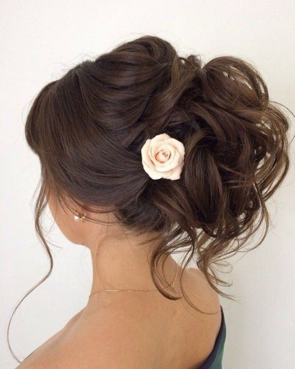 wedding-hairstyles-2017-164 81+ Beautiful Wedding Hairstyles for Elegant Brides in 2020