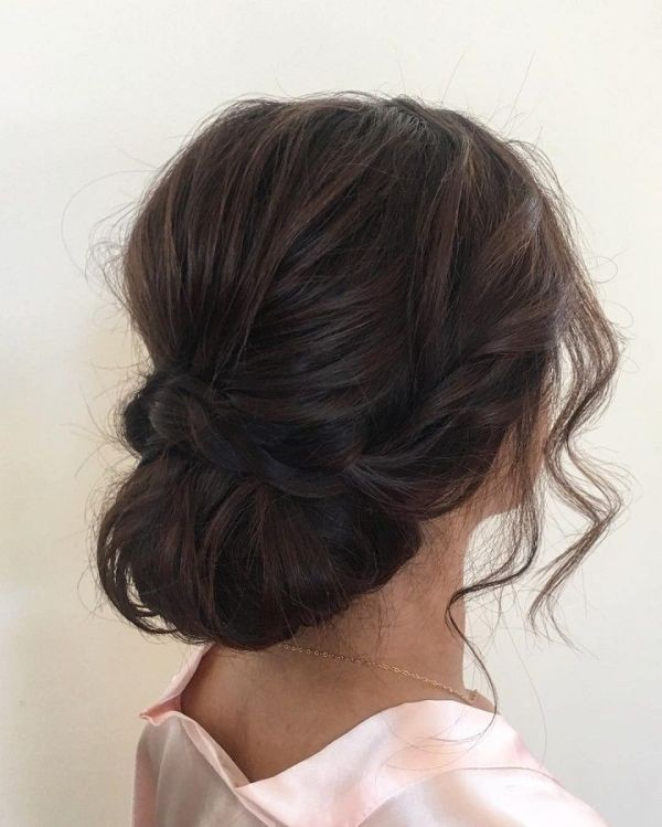 wedding-hairstyles-2017-165 81+ Beautiful Wedding Hairstyles for Elegant Brides in 2020